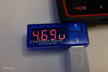 20160819 085359 DSCF1105 X100T charger doctor usb meter_DCE
